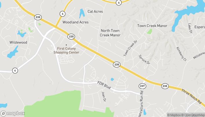 Mapa de 45350 Alton Lane en California