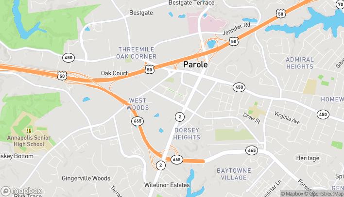 Mapa de 220 Harker Place en Annapolis