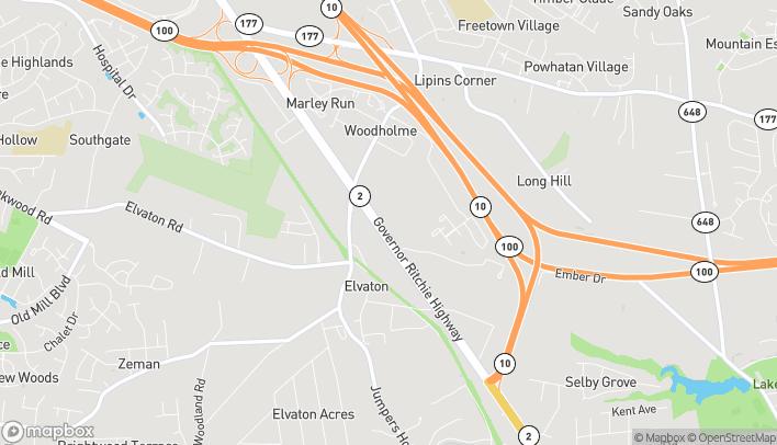 Mapa de 8131-A Ritchie Highway en Pasadena