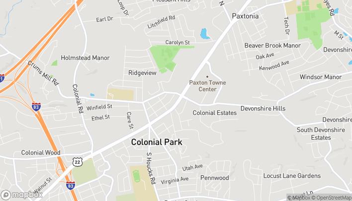 Map of 4920 Jonestown Road in Harrisburg