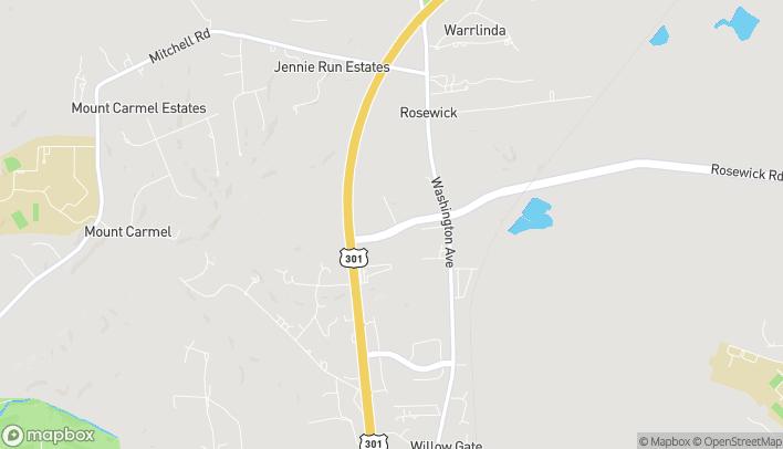 Mapa de 132 Rosewick Road en Laplata