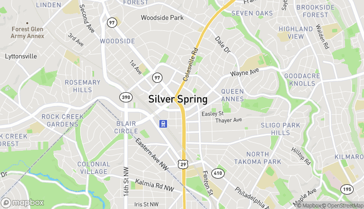 Map of 8519 Georgia Ave in Silver Spring