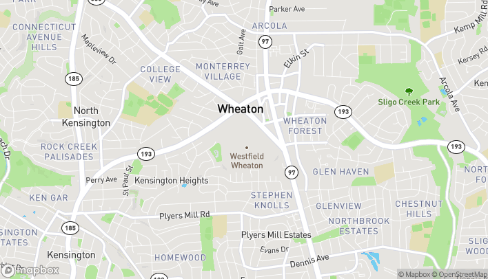 Map of 11160 Viers Mill Rd in Wheaton
