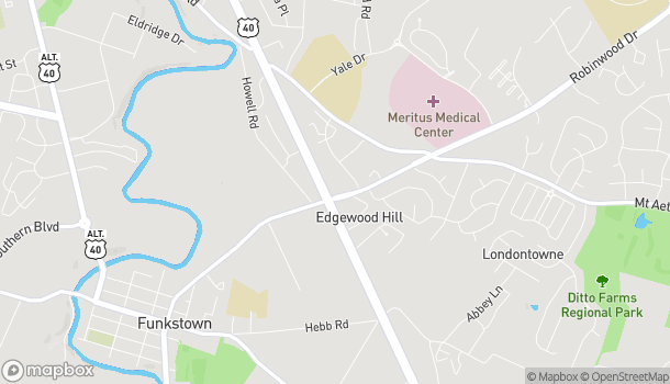 Map of 1640 Dual Highway in Hagerstown