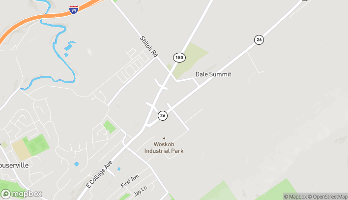Map of 2901 E College Ave in State College