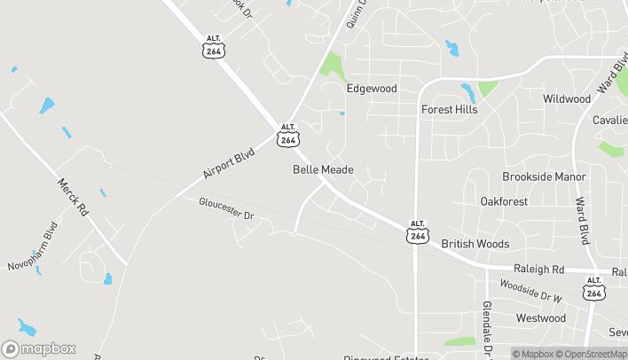 Mapa de 3401 Raleigh Rd 10-E en Wilson