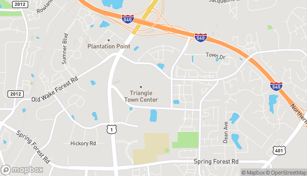 Map of 5959 Triangle Town in Raleigh