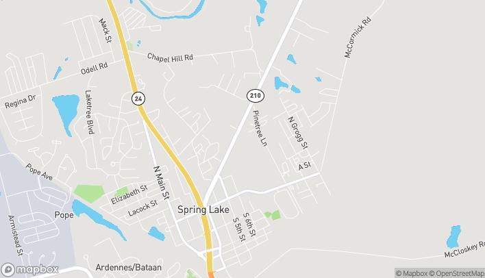 Mapa de 630 Lillington Hwy en Spring Lake