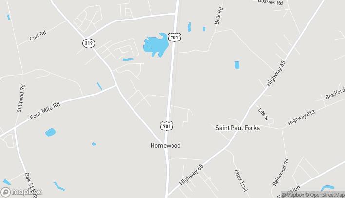Map of 3480 Hwy. 701 N in Conway