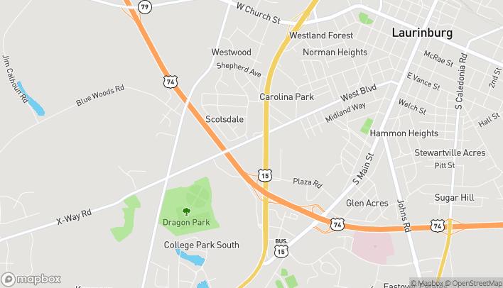 Mapa de 903 S 401 Bypass Highway en Laurinburg
