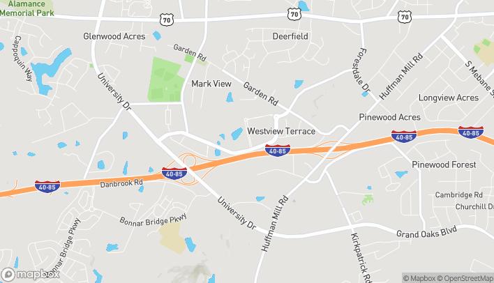 Mapa de 3124 Waltham Blvd en Burlington