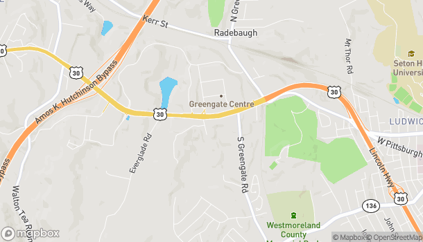Map of 6086 Route 30 in Greensburg