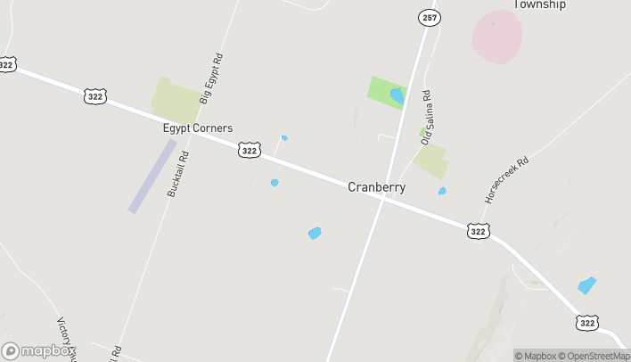 Map of 1 Kimberly Ln in Cranberry