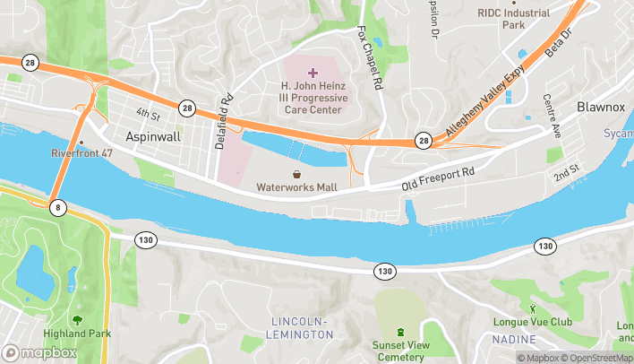 Map of 949 Freeport Rd in Pittsburgh