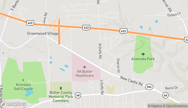 Map of 280 Butler Commons in Butler