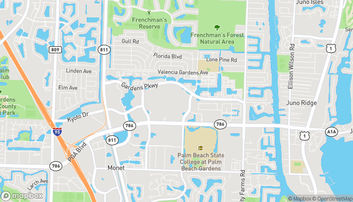 Map of 3101 Pga Blvd in Palm Beach Gardens