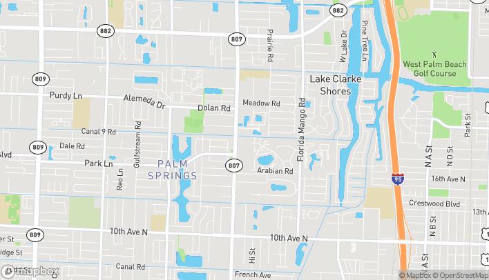 Mapa de 1730 S. Congress Ave en Palm Springs