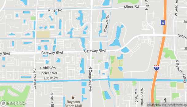 Mapa de 1880 N Congress Ave en Boynton Beach