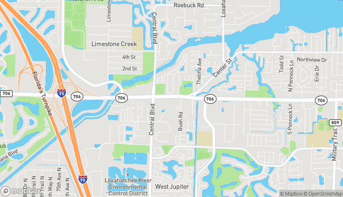 Mapa de 6286 W Indiantown Road en Jupiter