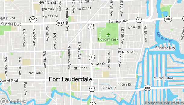Map of 530 North Federal Highway in Fort Lauderdale