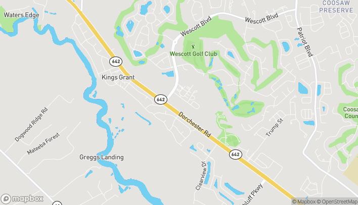 Map of 9500 Dorchester Rd in Summerville