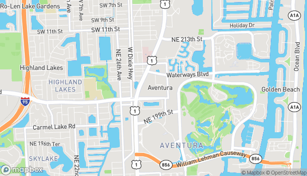 Map of 20445 Biscayne Blvd in Miami