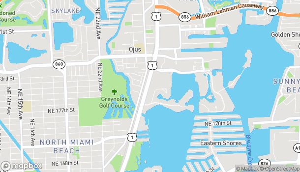Map of 18101 Biscayne Boulevard in Aventura