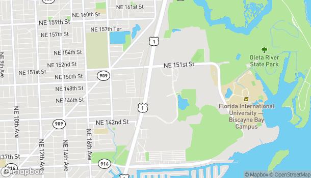 Mapa de 14661 Biscayne Blvd en North Miami Beach