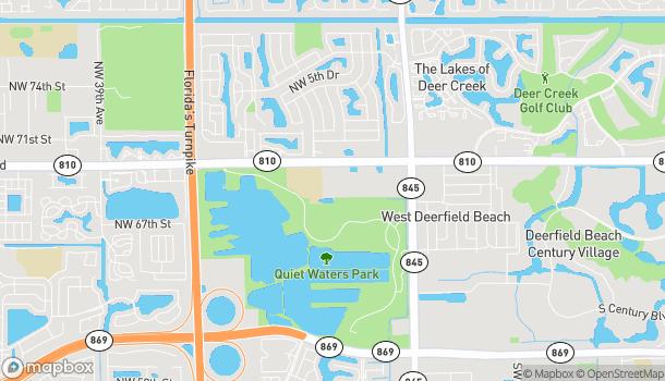 Map of 3980 W Hillsboro Blvd in Deerfield Beach