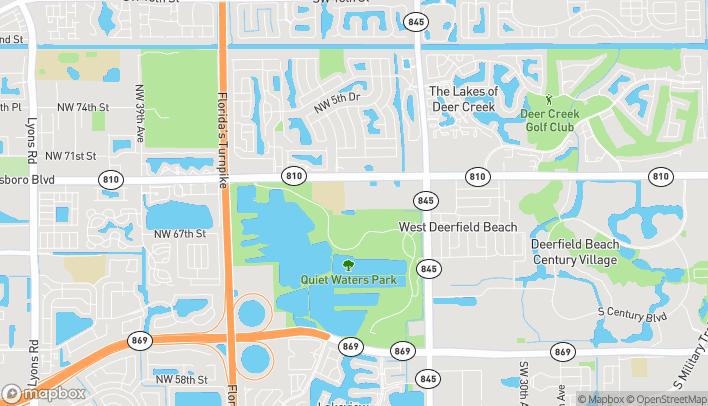 Mapa de 3980 W Hillsboro Blvd en Deerfield Beach