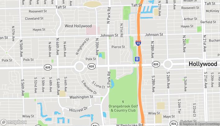 Mapa de 3273 Hollywood Blvd en Hollywood
