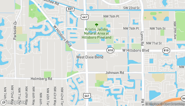Map of 6970 N State Road 7 in Coconut Creek