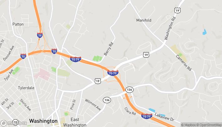 Map of 325 Washington Rd in Washington