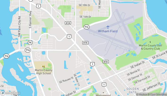 Map of 2379 SE Federal Hwy in Stuart