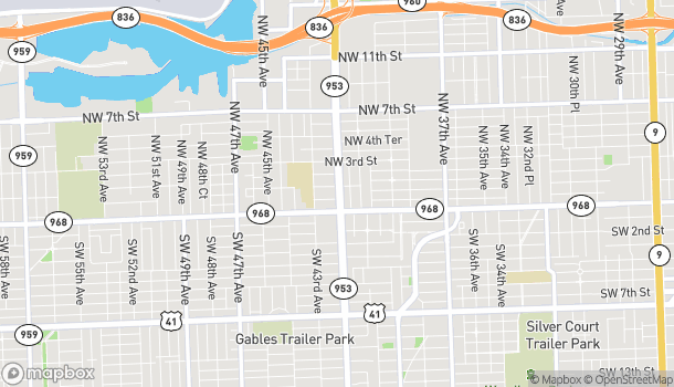 Map of 130 NW 42nd Avenue in Miami