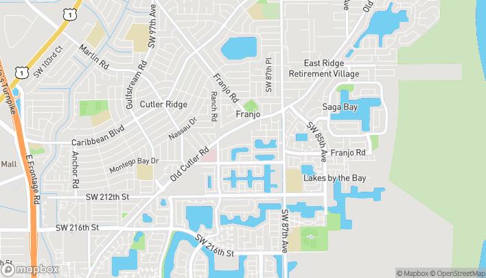 Mapa de 20439 Old Cutler Rd en Miami