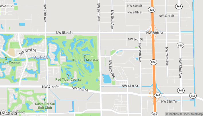 Mapa de 5241 NW 87th Ave en Doral