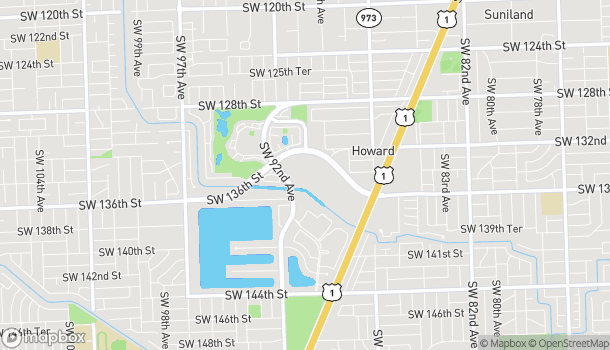 Map of 8888 SW 136 St in Miami