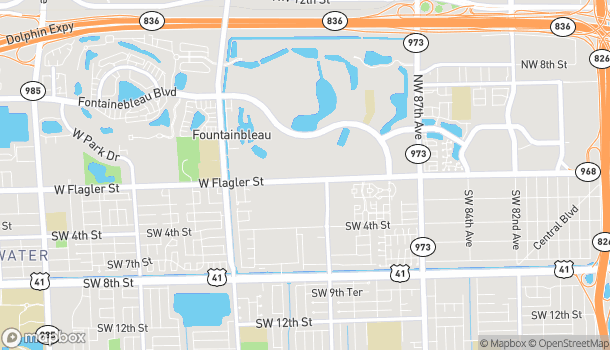 Map of 9231 W. Flagler Street in Miami