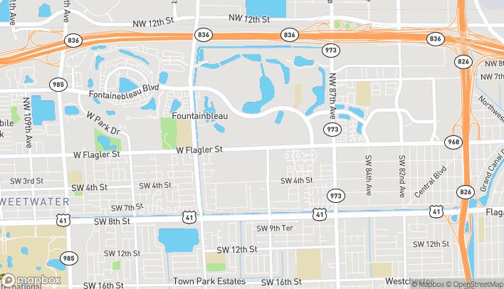 Map of 9231 W. Flagler Street in Miami