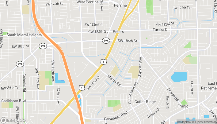 Map of 19103 S Dixie Hwy in Miami