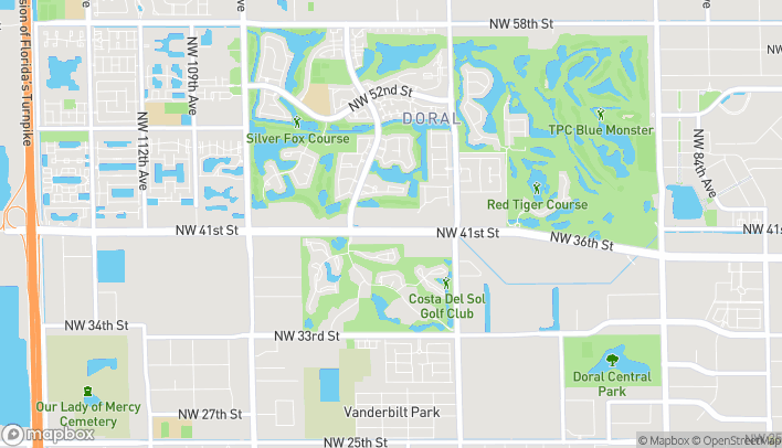 Map of 10003 NW 41st St in Miami