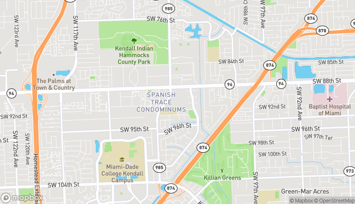 Map of 8941 SW 107th Ave in Miami