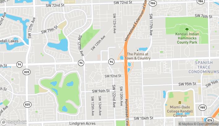 Mapa de 12190 SW 88th St en Miami