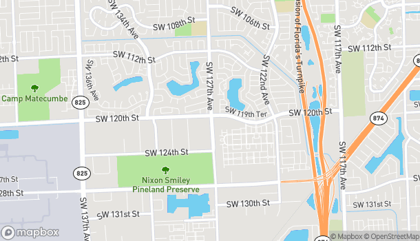 Map of 12030 SW 127th Ave in Miami