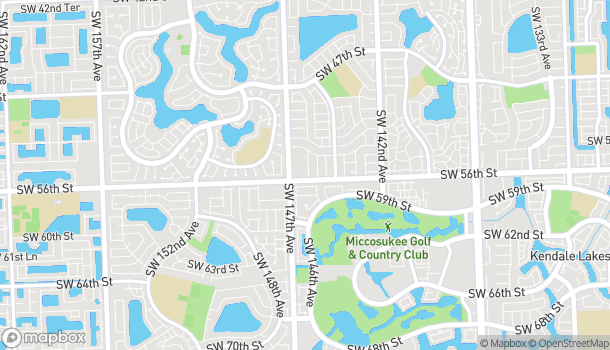 Map of 14649 SW 56 St in Miami