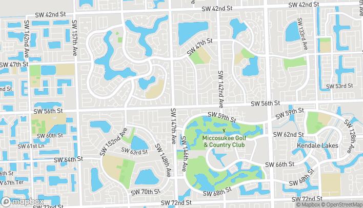 Mapa de 14649 SW 56 St en Miami