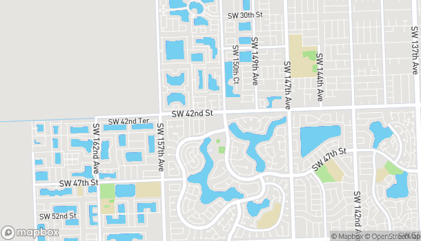 Map of 4238 SW 152nd Ave in Miami