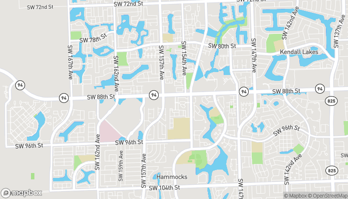 Map of 15420 SW 88th St in Miami