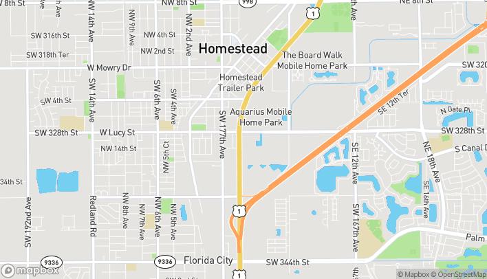 Mapa de 32951 S Dixie Hwy en Florida City